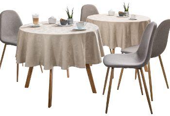 Table linen non-iron